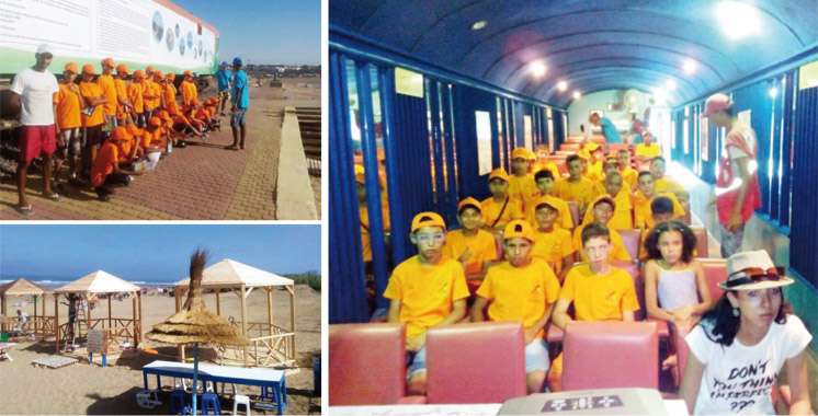 Plages d'Asilah et Ksar Sghir: Un programme estival signé ONCF