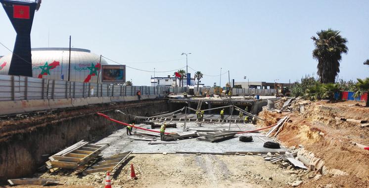 Le projet réalisé à hauteur de 70%: Le super collecteur ouest de Casablanca sera livré en mars 2017