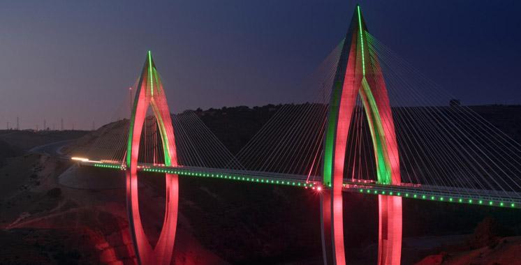Pont à haubans de Rabat : Philips assure l'éclairage