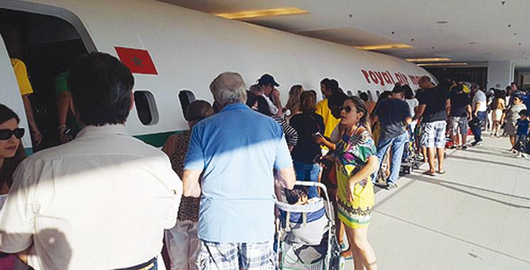 Rio 2016: Une maquette d'avion grandeur nature  de la RAM fait le show à «la Casa Da Africa»