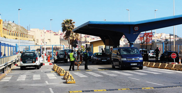 214 millions DH de transit de marchandises par an: Réouverture du poste frontière de Tarajal