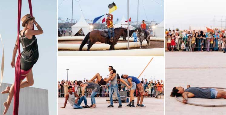 Le cirque marocain fait son «show» au Festival Karacena: Laissons au corps l'occasion de s'exprimer !