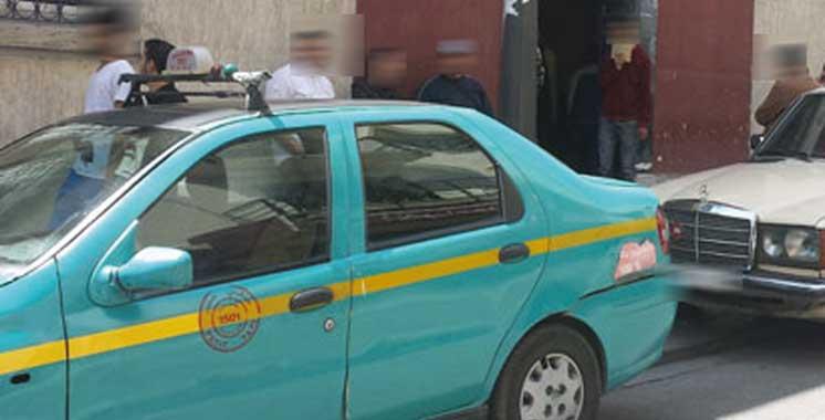 Tanger : Un chauffeur de taxi agressé par trois malfrats