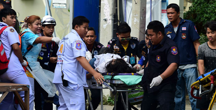 Thaïlande : une série d'explosions dans une station balnéaire