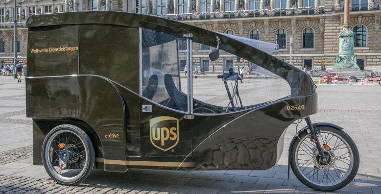 Un milliard de miles: UPS atteint son objectif avant l'heure