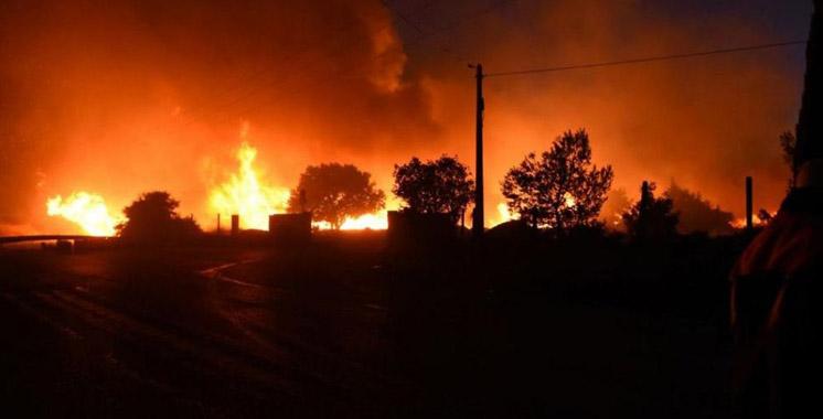 Violents incendies près de Marseille : plusieurs quartiers de la ville évacués