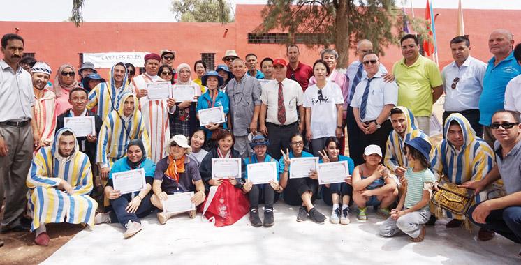 Programme «World Friends Korea» : Escale réussie du «Camp les Ailes» au Maroc
