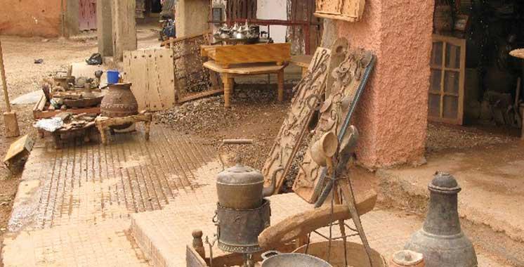 Leur Salon régional s'est ouvert lundi et se poursuit jusqu'au 23 courant: Les artisans de Tinghir à l'honneur