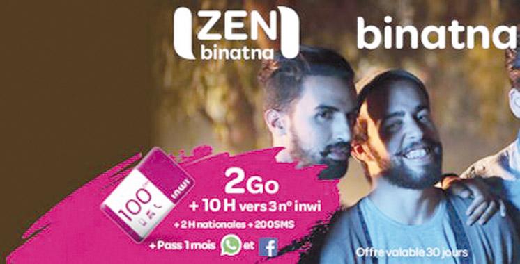 Communiquer librement et sans contraintes: «Zen» devient «Zen binatna»