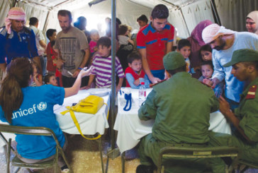 Hôpital marocain de campagne au camp Zaatari en Jordanie: Plus de 11.000 réfugiés syriens ont bénéficié des services médicaux