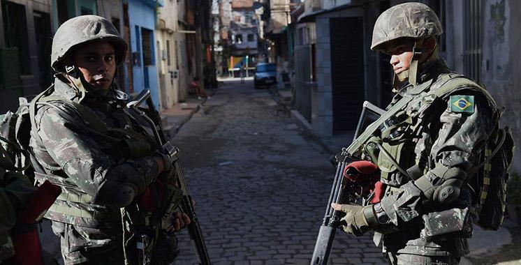 Brésil : Un mort et deux blessés lors d'une opération militaire dans une favela de Rio