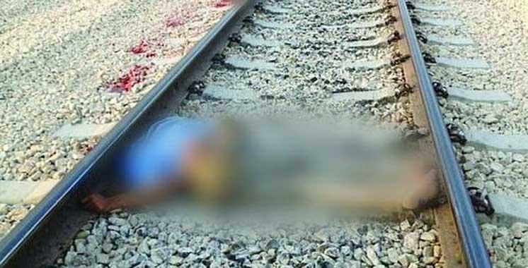 Heurté par un train après avoir agressé deux adolescents