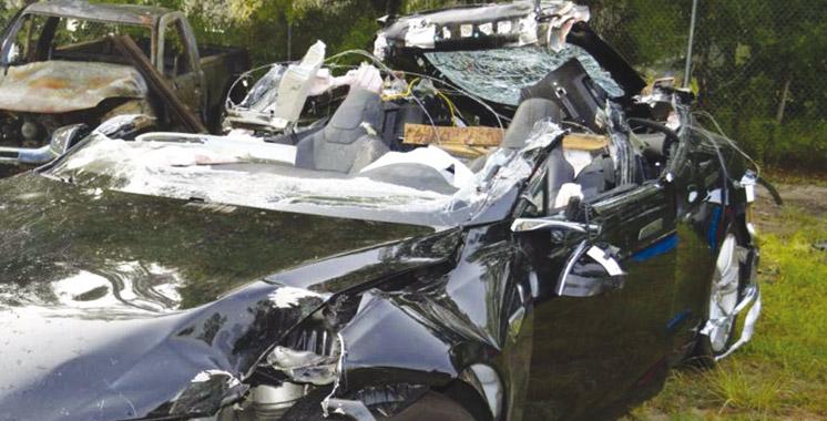 Enquête: La vitesse serait à l'origine de l'accident mortel à bord de la Tesla