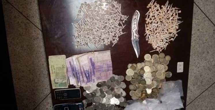 Casablanca : Saisie de plusieurs drogues et d'importantes sommes d'argent