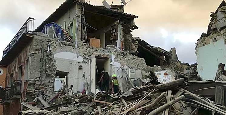 Séisme en Italie : Au moins 37 morts, selon un nouveau bilan provisoire