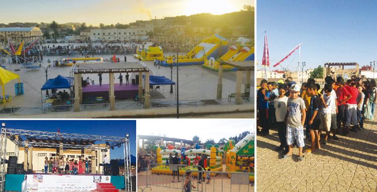 Il s'inscrit dans le cadre du programme estival de l'ONEE: Un village de loisirs voit le jour à Jerada