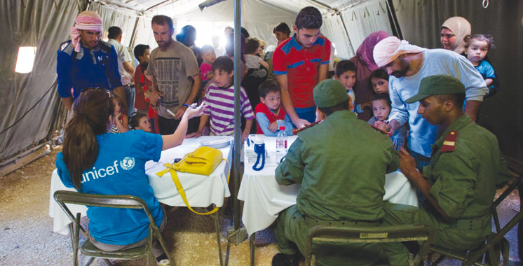 Hôpital marocain de campagne au camp Zaatari en Jordanie: Plus de 19.000 prestations en juillet dernier au profit des réfugiés syriens