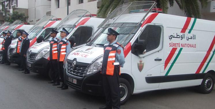Remise de 51 véhicules et 10 motocycles à la police d'Oujda