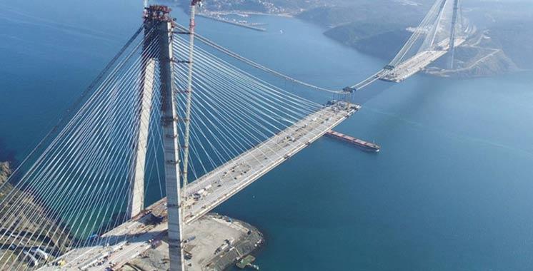 Turquie : Inauguration du pont le plus large au monde