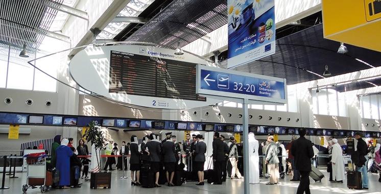 Trafic aérien : 9,24 millions de passagers  au premier semestre