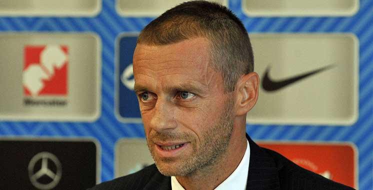 Football : Le Slovène succédé à Michel Platini à la tête de l'UEFA