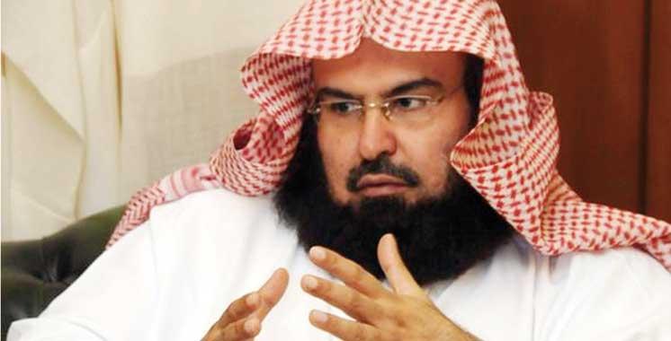 Abderrahmane Soudays, président des affaires de la sainte Mosquée Al Haram  à La Mecque et la Mosquée Nabawi à Médine