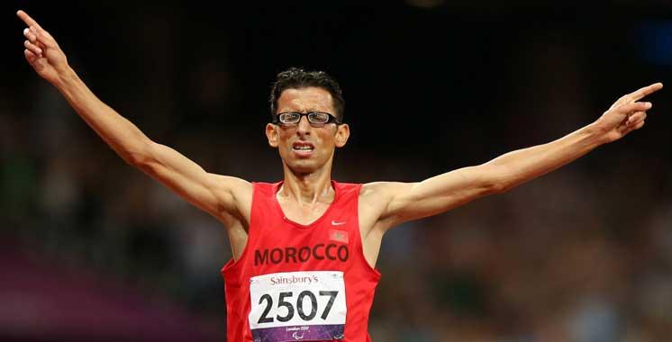 Jeux paralympiques 2016 : Chentouf offre au Maroc sa troisième médaille d'or