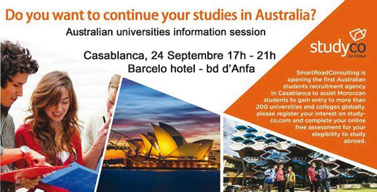 Les universités  australiennes tiennent leur premier Forum au Maroc