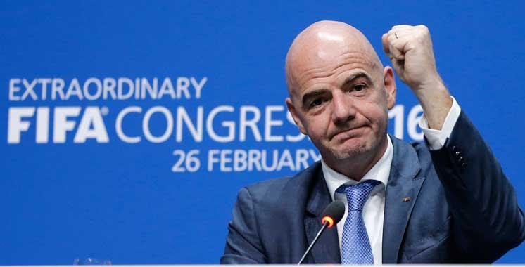 Président de la FIFA : «Le Maroc est en mesure d'accueillir la Coupe du Monde de football»