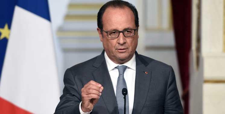 François Hollande: «Nous avons toute confiance en l'organisation par le Maroc de la COP22»