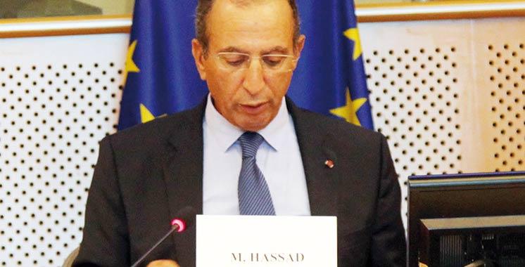 Lutte antiterroriste : Hassad fait son exposé devant le Parlement européen