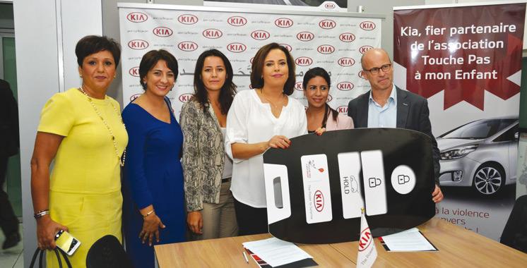 Kia Motors Bin Omeir Group soutient l'association «Touche pas à mon enfant»