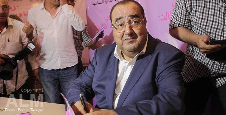 Casablanca : Driss Lachgar présente son nouveau livre
