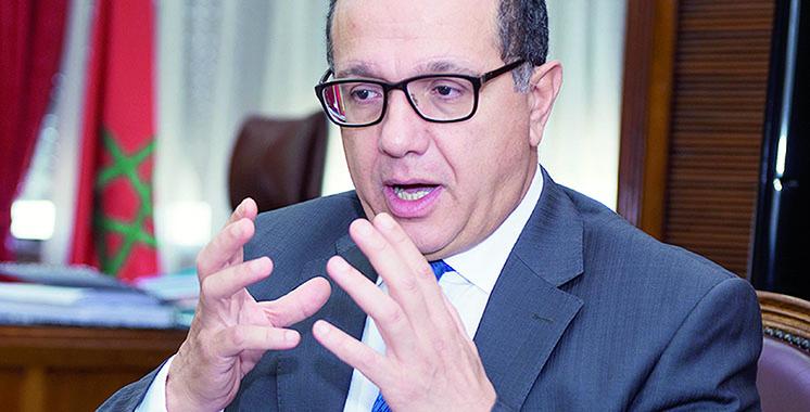 Mohamed Boussaid aux réunions de la Banque mondiale  et du FMI