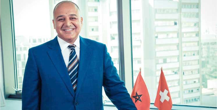 Benzaari à la tête de la Chambre de commerce suisse au Maroc