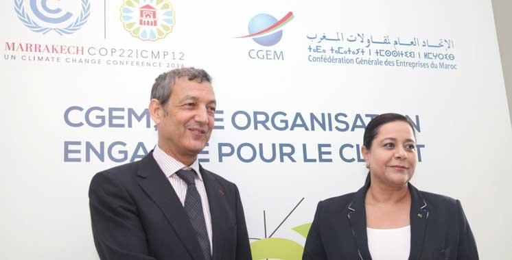 Environnement: La CGEM en force à la COP22
