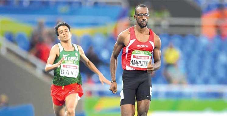 Jeux Paralympiques de Rio : médaille d'or et record du monde pour Mohamed Amgoun