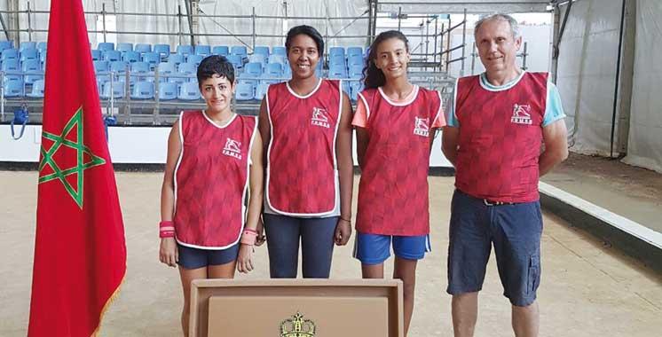 Sport-boules: L'équipe nationale peaufine sa préparation pour le Mondial féminin