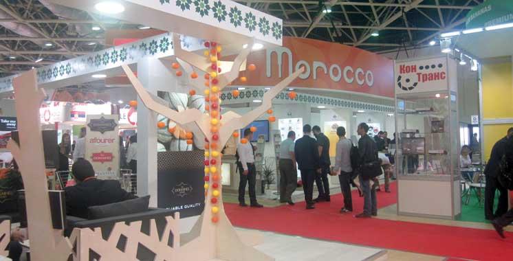 Worldfood Moscow :  Forte présence marocaine