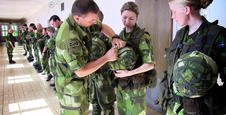 La Suède envisage de rétablir le service militaire