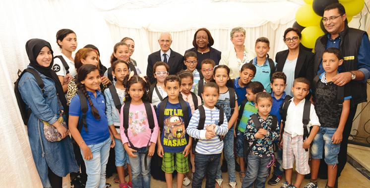 Western Union vient en aide  à SOS Villages d'Enfants