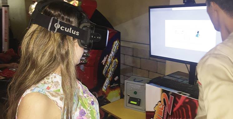 Animation 9D : Quand le virtuel  et le réel s'entremêlent