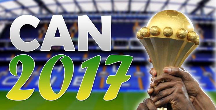 CAN-2017: le Maroc dans le 3ème chapeau