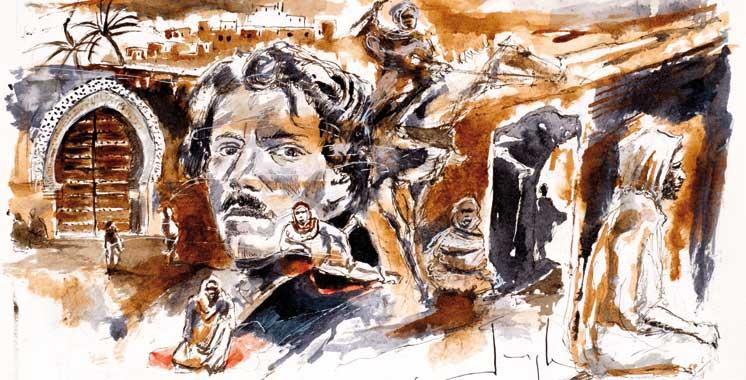 Les premières rencontres sont dédiées à Delacroix: Initiation aux carnets de voyage