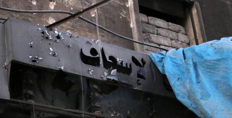 Syrie: Un hôpital d'Alep touché par des frappes aériennes