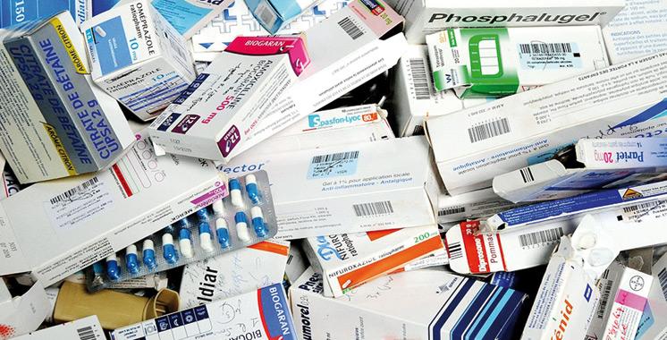 Saisie à El Jadida de grandes quantités de produits pharmaceutiques de contrebande