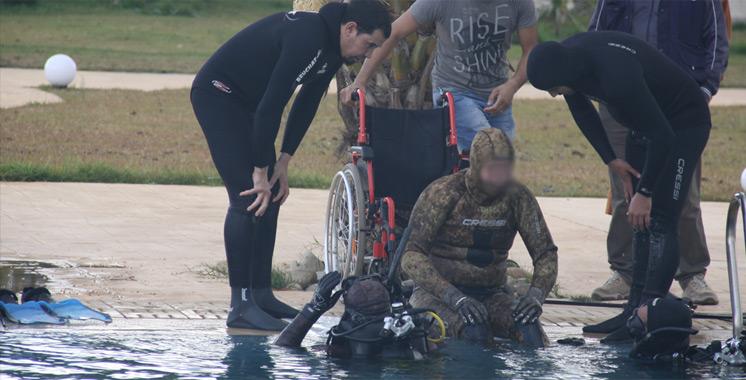 Marrakech : La Maroc organise le championnat pour plongeur en situation de handicap