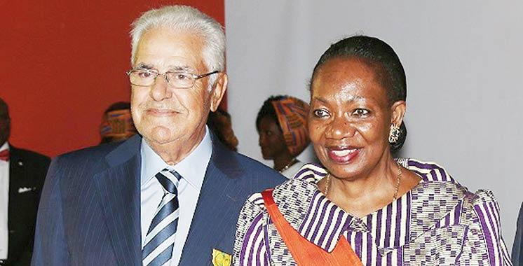 Abdelali Berrada Sounni, officier de l'Ordre du mérite ivoirien