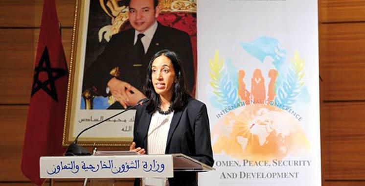 Valorisation de l'apport des femmes pour les processus de paix et de développement