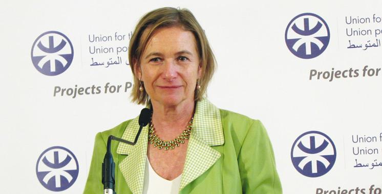 Delphine Borione: «Sur les 45 projets qui ont déjà été «labellisés» et soutenus par l'UpM, 26 concernent le Maroc»